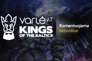 Kings of the Baltics [LT] – Varlė.lt Kings of the Baltics League of Legends Top 4#2